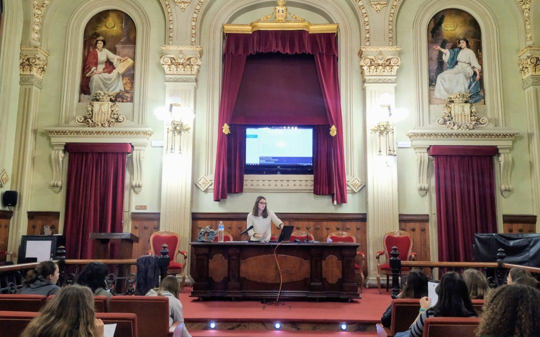 El proyecto europeo E-STEAM  reúne a mentoras y mentorizadas en el IES Ribalta de Castellón