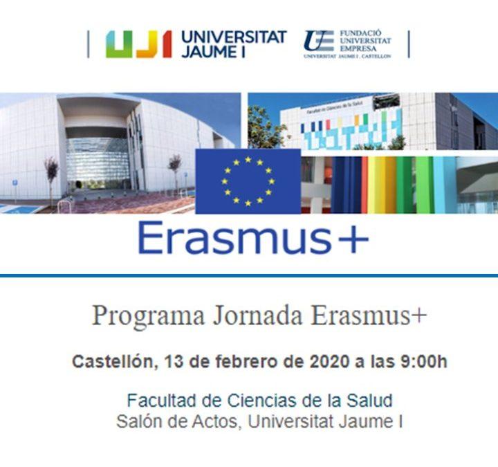 La UJI impulsa una jornada en financiación europea Erasmus +