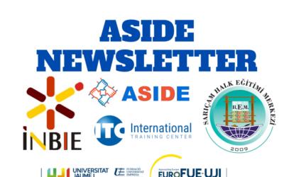 Erasmus+ project ASIDE first newsletter
