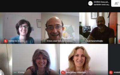 El proyecto Erasmus+ Ecoblue Tourism reúne a sus socios en un encuentro online