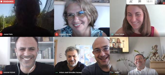 THE ERASMUS+ CIA PROJECT HOLDS AN ONLINE MEETING WITHIN ITS PARTNERS