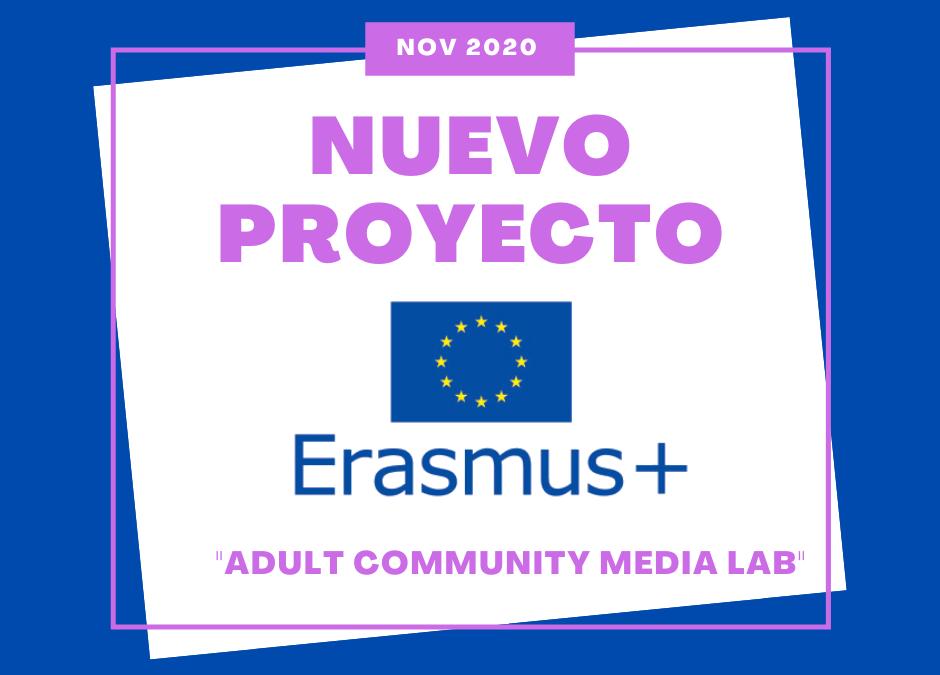 EL NUEVO ERASMUS+ DE LA FUE-UJI ADULT COMMUNITY MEDIA LAB SOBRE LA ERA DIGITAL Y SOCIAL MEDIA