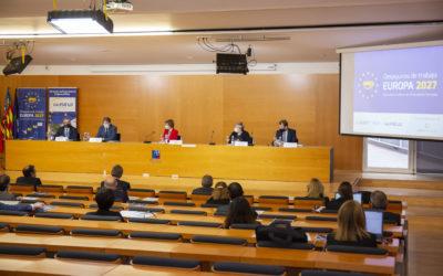 Los Desayunos de trabajo Europa 2027 de la FUE-UJI abordan la nueva convocatoria H2020 Green Deal