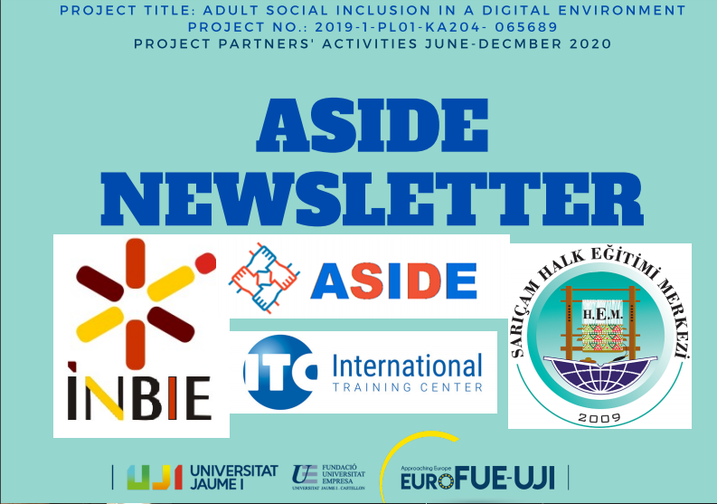SECOND NEWSLETTER ASIDE ERASMUS+ PROJECT