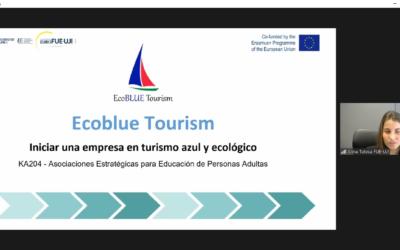 La FUE-UJI presenta el proyecto Ecoblue Tourism en el ciclo Fondos Europeos 2021-2027