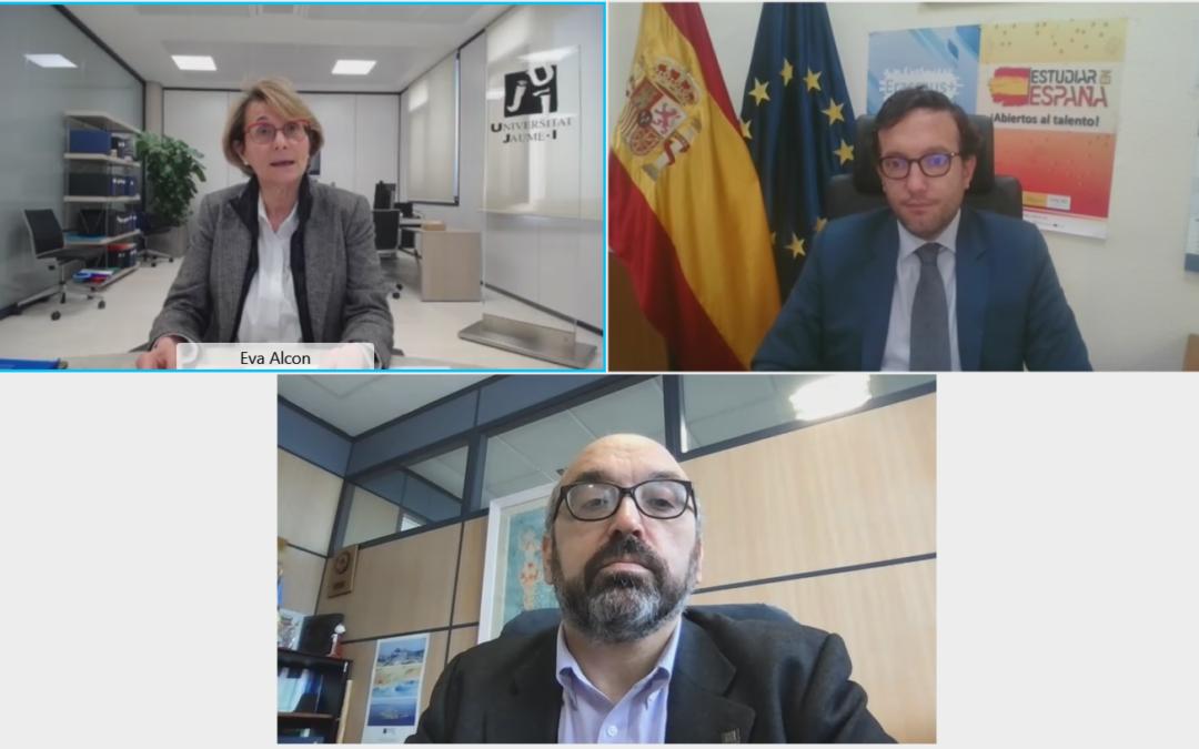 La UJI presenta en un taller virtual el nuevo Programa Erasmus+