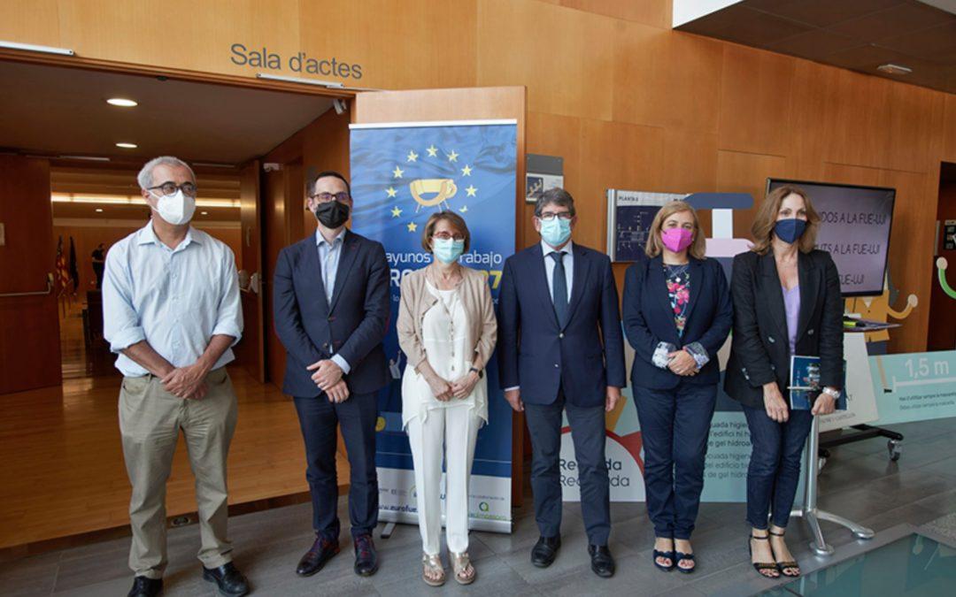 """Simetría pacta con la FUE-UJI una iniciativa para definir su """"Hoja de Ruta de Financiación Europea"""" para los próximos años"""