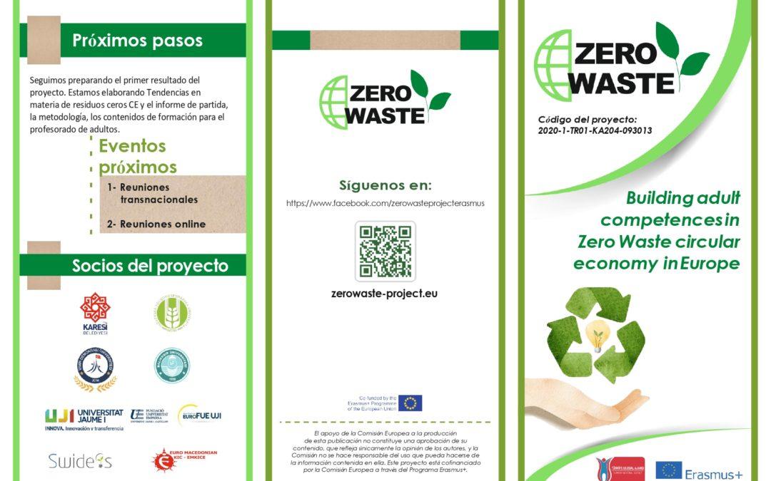 Todo sobre el proyecto Erasmus+ ZERO WASTE