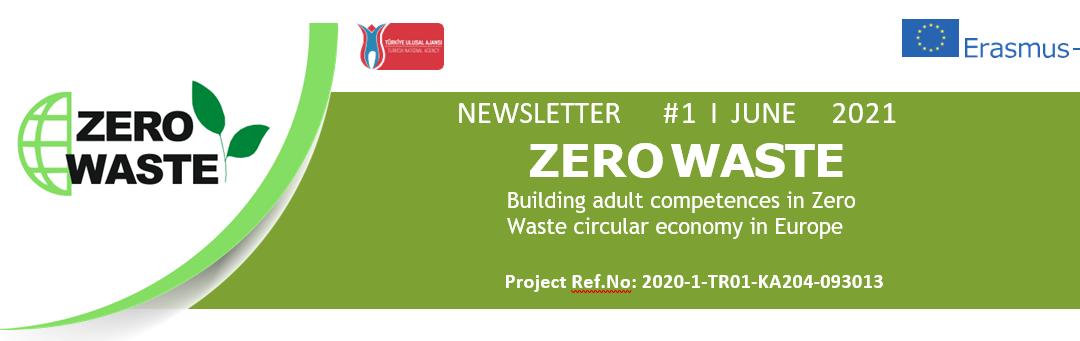 El proyecto Erasmus+ ZERO WASTE publica su primer boletín informativo