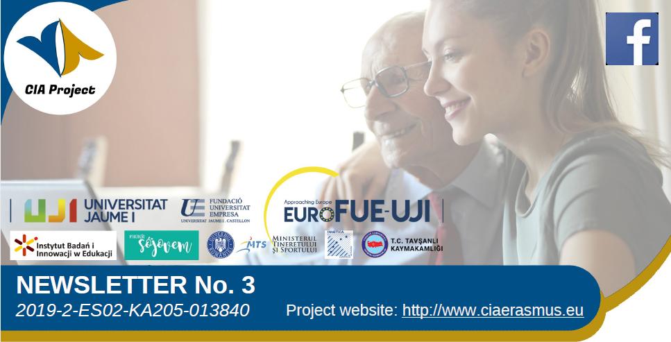 El proyecto Erasmus+ CIA publica su tercer boletín informativo
