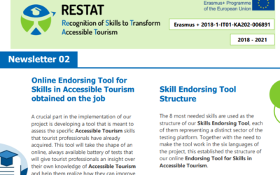 THE 2ND NEWSLETTER OF ERASMUS+ PROJECT RESTAT ALREADY PUBLISHED