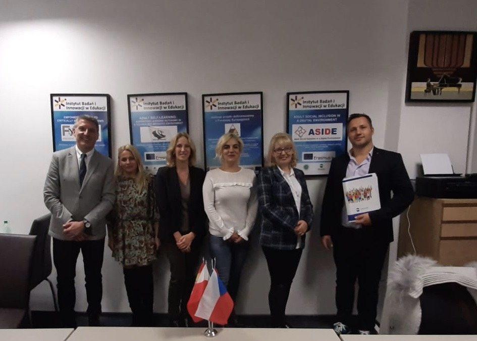 La EuroFUE-UJI se reune con los socios del proyecto ASIDE en Polonia