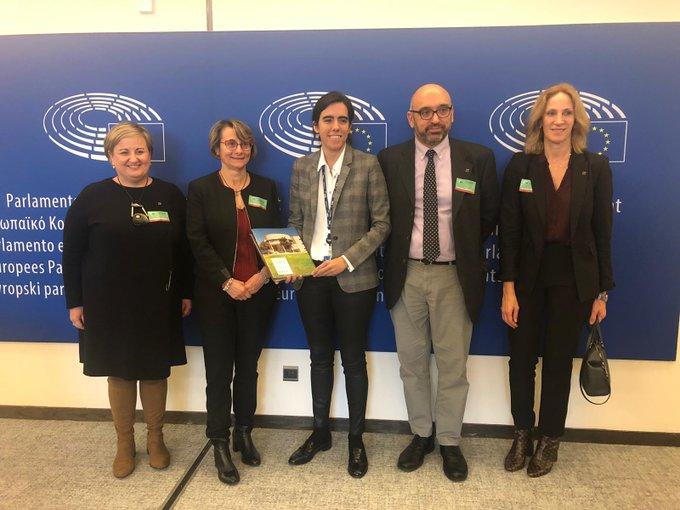 La rectora de la UJI viaja a Bruselas para reforzar la estrategia de internacionalización de la Universitat