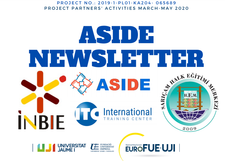 Erasmus+ project ASIDE first newsletter