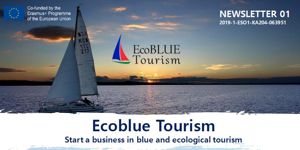 Ecoblue Tourism Erasmus+ project: first newsletter