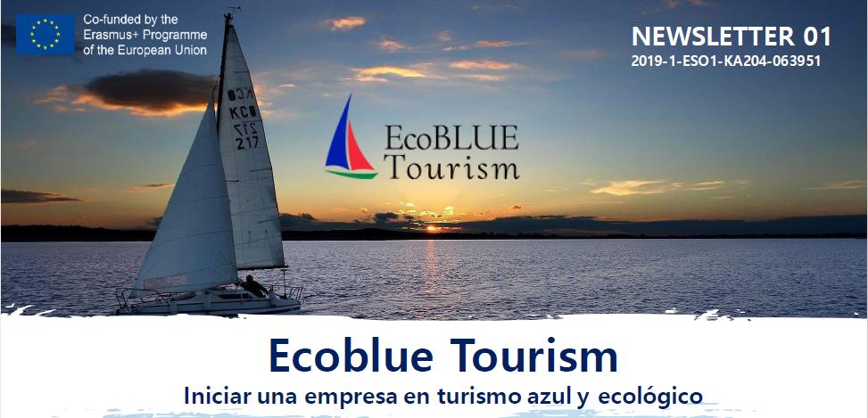 Proyecto Erasmus+ Ecoblue Tourism: primer boletín informativo