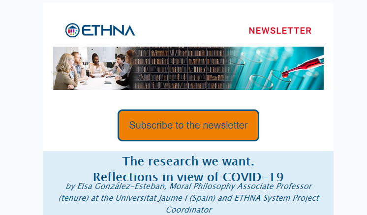 ETHNA System H2020 project first newsletter
