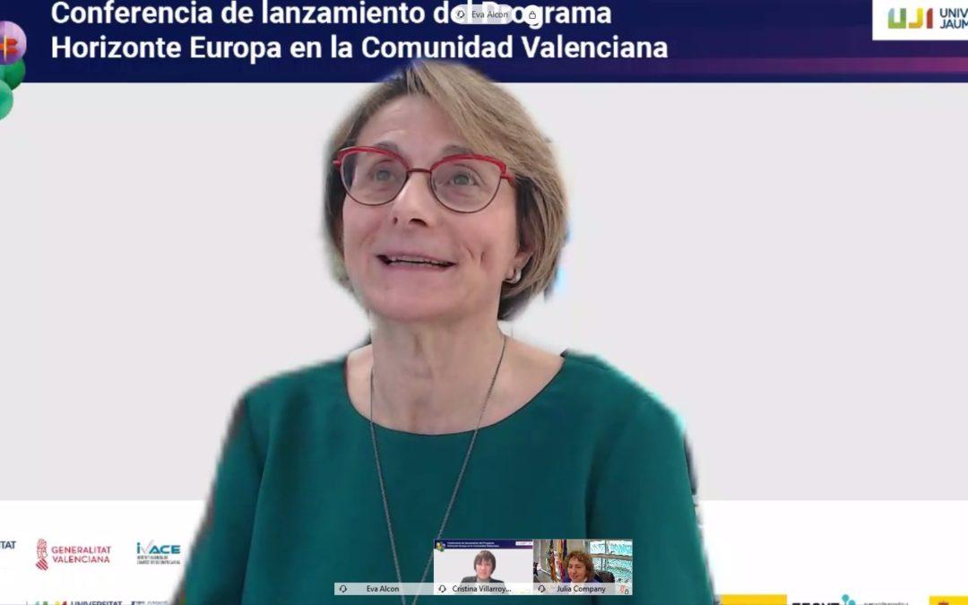 La UJI acoge la Conferencia de lanzamiento del Programa Horizonte Europa en la Comunitat Valenciana