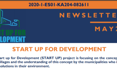 The Erasmus+ project START UP for Development publishes its first newsletter