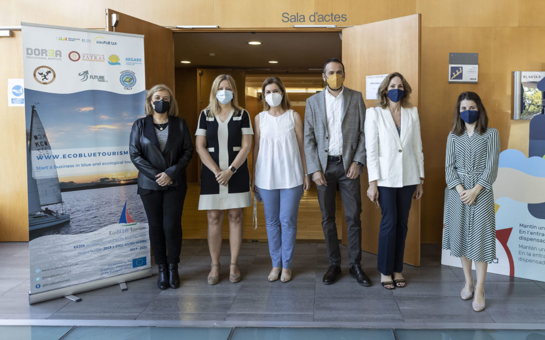 FUE-UJI PRESENTS THE RESULTS OF THE ERASMUS+ ECOBLUE TOURISM PROJECT