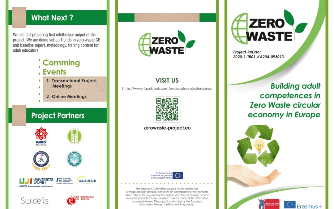 All about the Erasmus+ project ZERO WASTE
