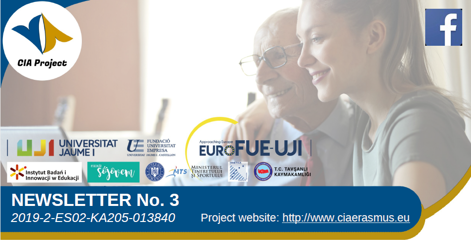 The Erasmus + CIA project publishes its third newsletter