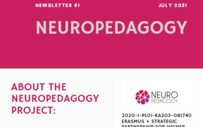 El proyecto Erasmus + Neuropedagogy publica su 1er boletín informativo
