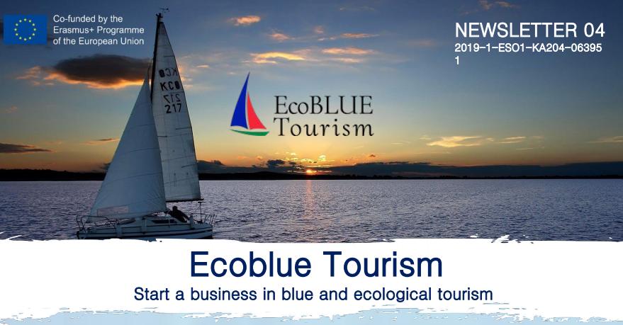 ERASMUS + ECOBLUE TOURISM PROJECT: FOURTH NEWSLETTER